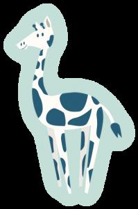 cartoon CAS giraffe