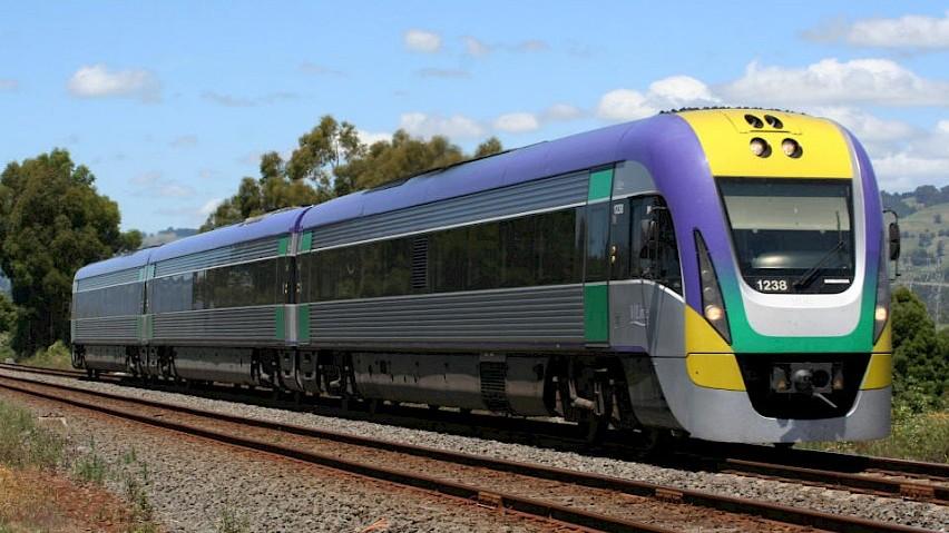 three carriage train